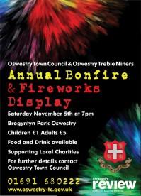 Oswestry Bonfire