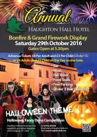 Haughton Hall Hotel Fireworks